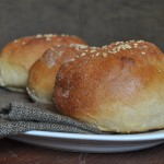 Homemade Whole Wheat Hamburger Buns