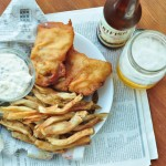 Beer Battered {Pub Style Fish} and Chips