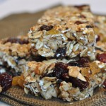 Homemade Berry Granola Bars