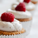 Raspberry, White Chocolate and Coconut Cupcakes