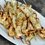 Lemon-Dill Chicken Skewers