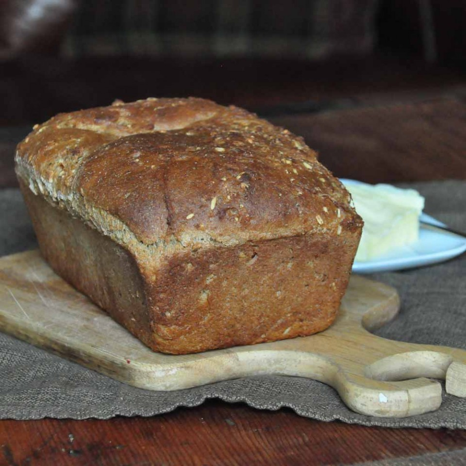 fresh ground grain bread - Foods of Our Lives