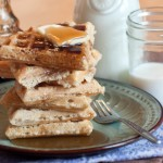 Whole Grain, Delicious Homemade Waffles