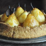 Pear and Custard Tart