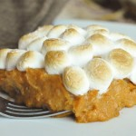 Marshmallow and Sweet Potato Casserole