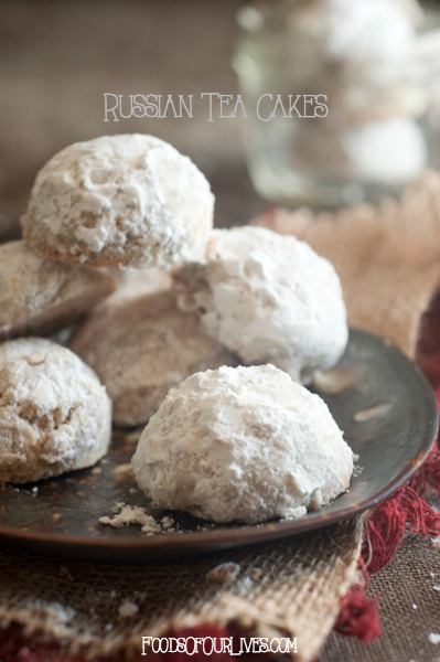 Russian Tea Cakes | FoodsOfOurLives.com. Also Known As Italian Wedding  Cookies ...