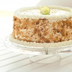 Key Lime Layered Angel Food Cake