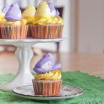 Strawberry Lemonade Peep Cupcakes for Easter