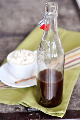 {make your own} Pumpkin Spice Syrup