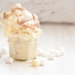 Marshmallows 'n' Peanut Butter Cake Batter Ice Cream