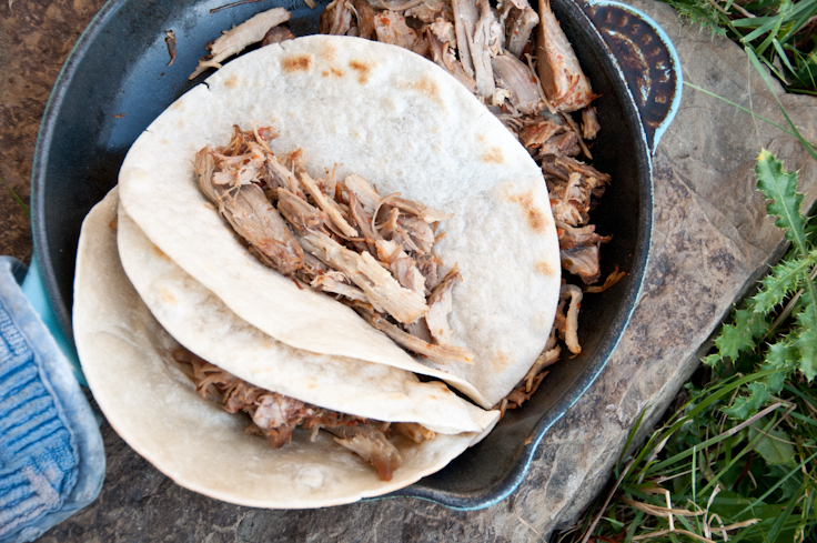 Camp Food: Cilantro Lime Pulled Pork