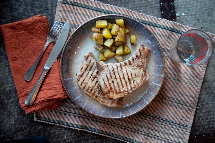 15 Minute Meal: Dijon Pork Chops