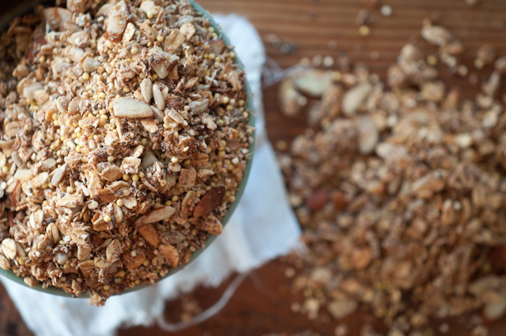 Amazing Protein Packed Granola