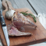Rosemary Dijon Rack of Lamb (or Goat as the case may be…)