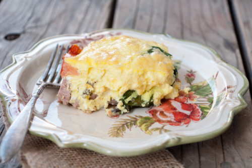 Super Easy Super Tasty Egg Casserole