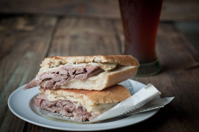Cuban Smoked Pork Sandwich
